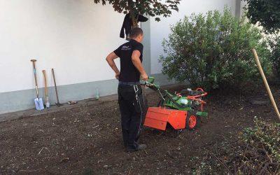 Grünanlagenpflege zum Herbst