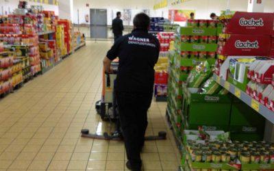 Kaufhausreinigung von Wagner Dienstleistungen
