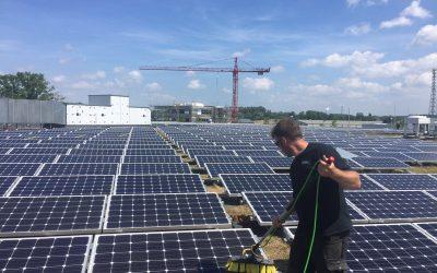 Glas- und Solaranlagenreinigung im Frühjahr