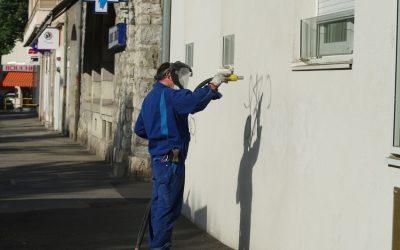 Graffiti-Entfernung vom Profi