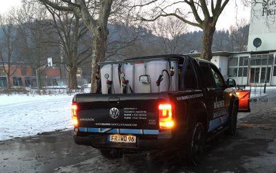 Winterdienst von Wagner – mehr als Schnee räumen